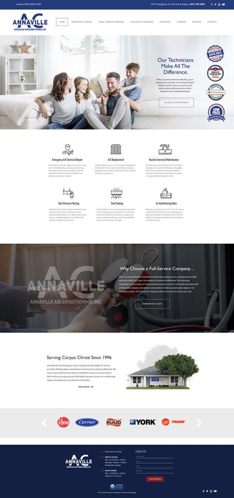 Annavilleairconditioning Web