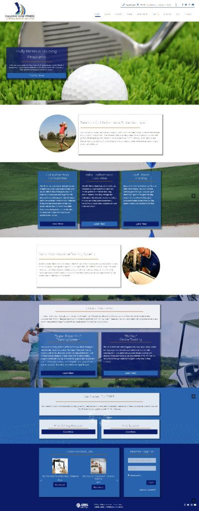Callaway Golf Fitness
