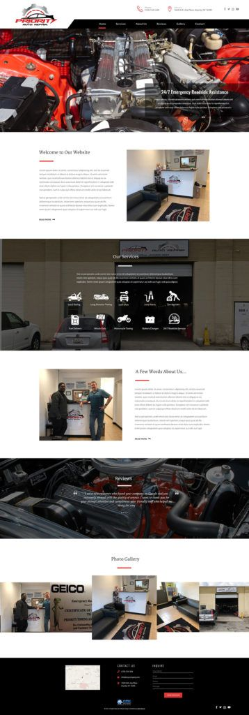 Priorityautorepair Web