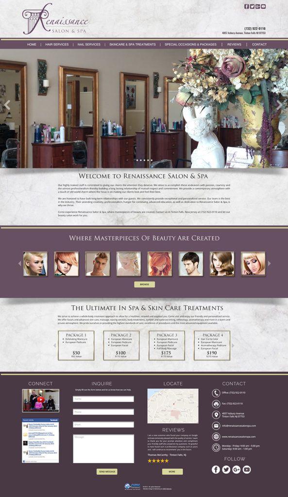 Renaissancesalonspa Web