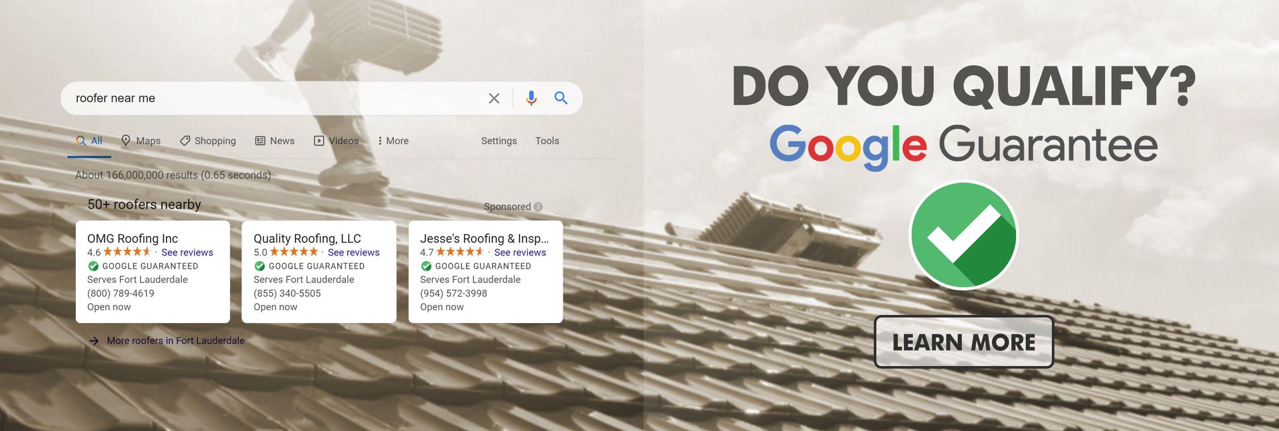 Home Services: Google Guarantee