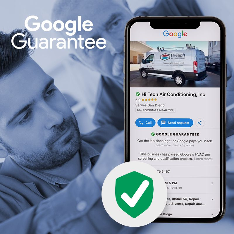 Google Guarantee Hvac
