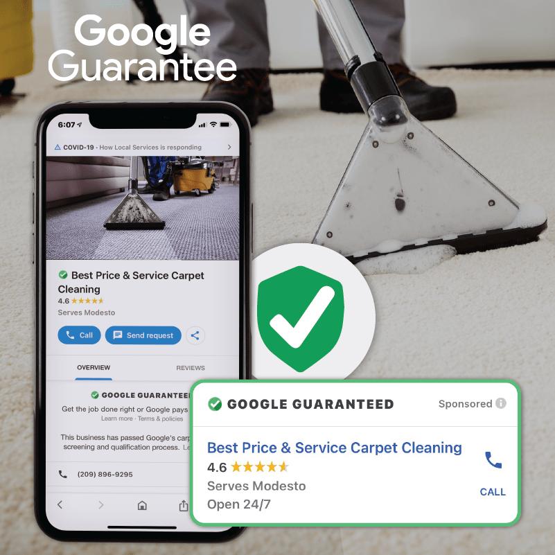 Google Guarantee Carpet Cleaner 01