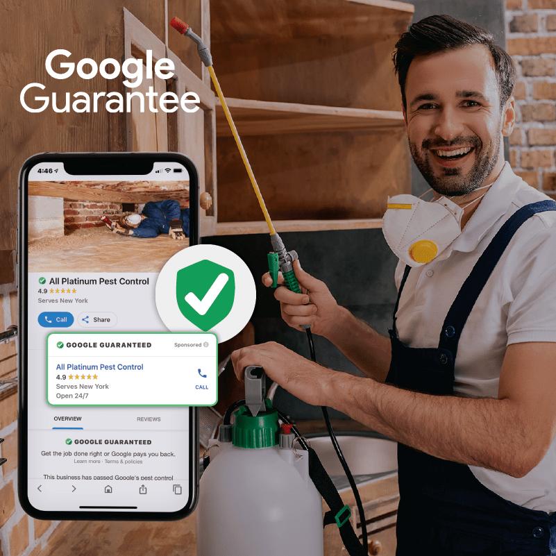 Google Guarantee Exterminator 01