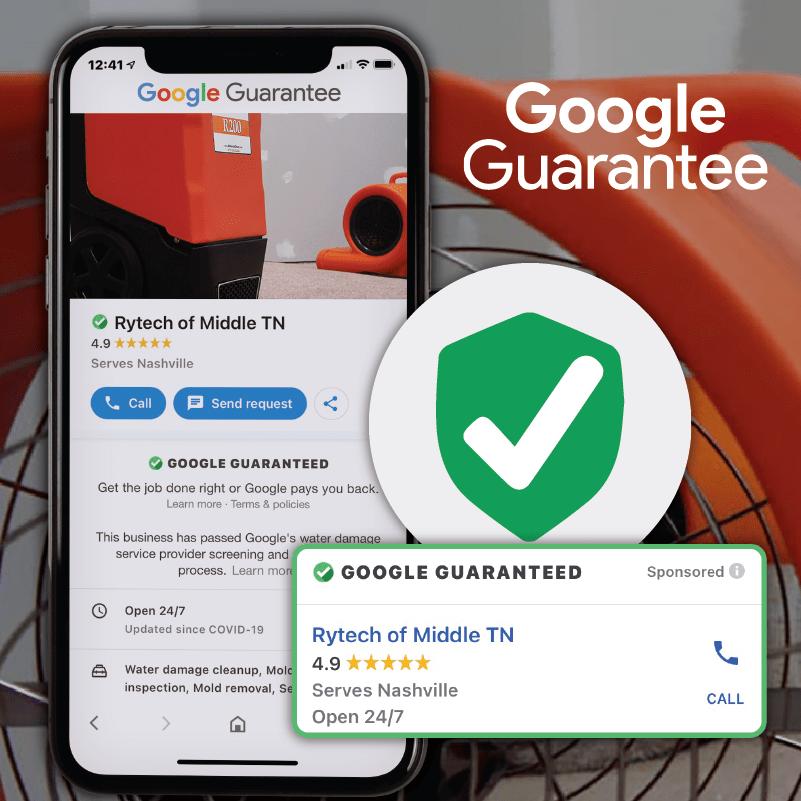 Google Guarantee Water Damage 01