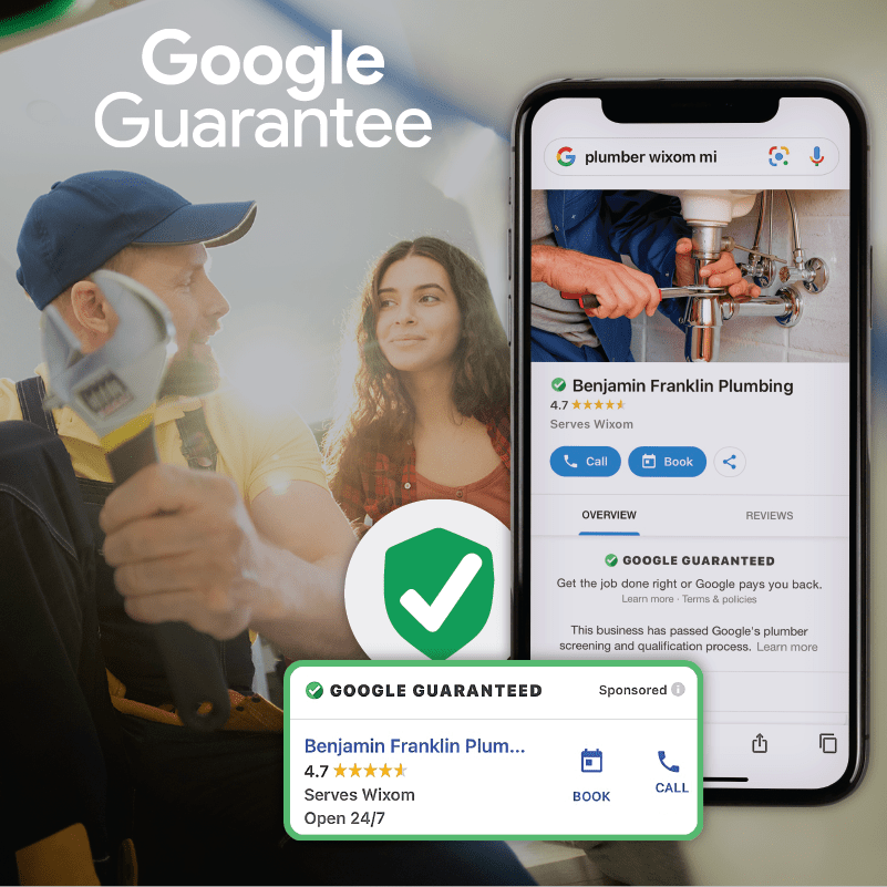 Web Graphic Google Guarantee Plumber 01