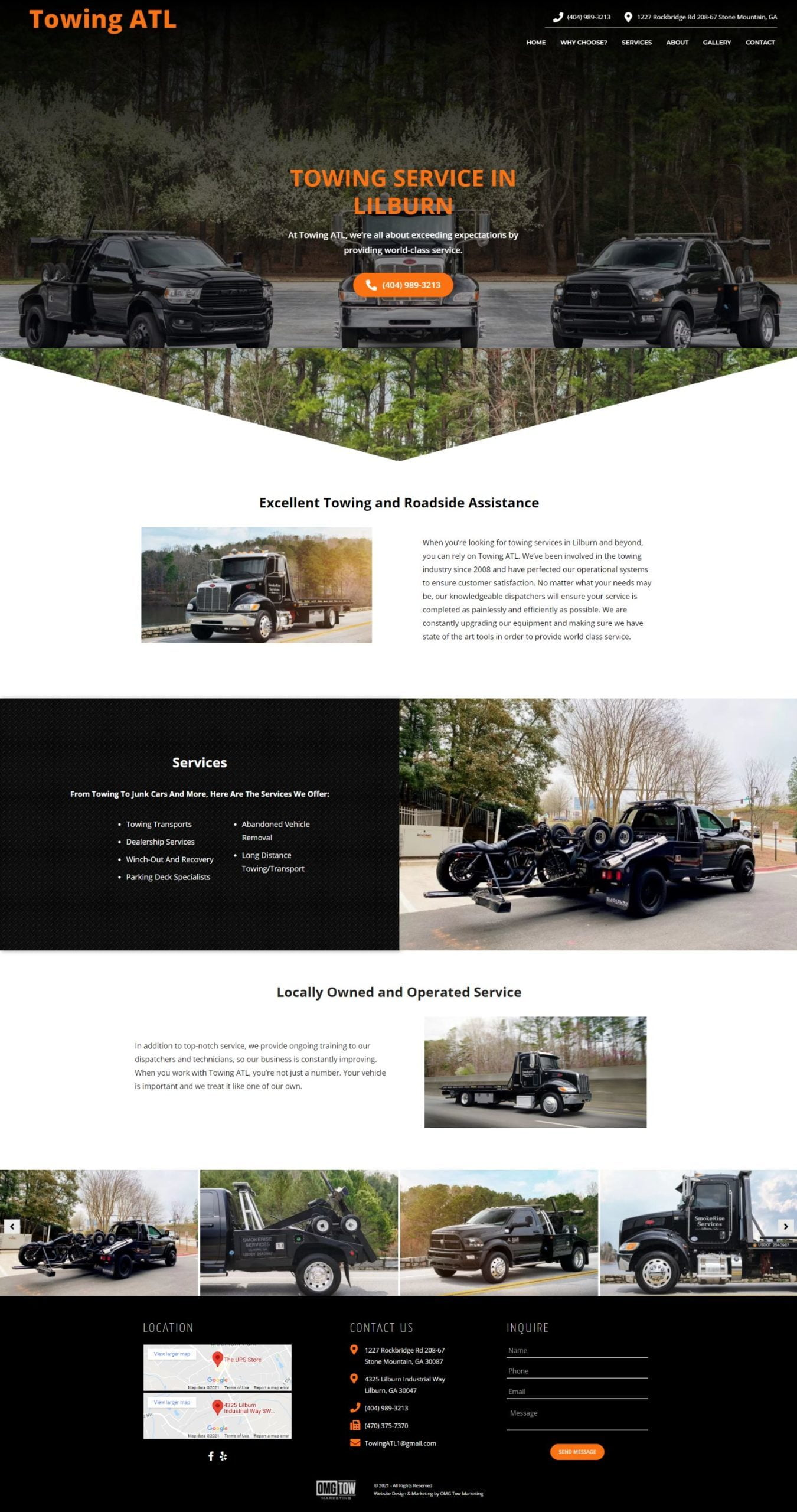 Towing Template 2